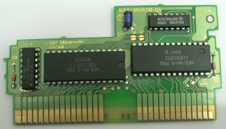 Super Mario Bros. / Duck Hunt PCB